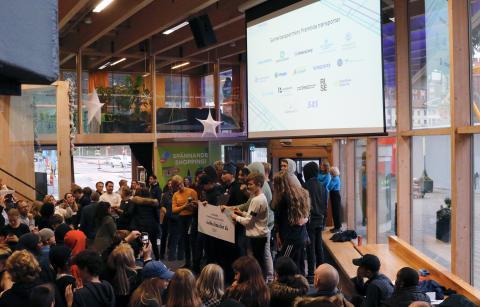 Elever vinner pris för framtidens bästa transportlösning