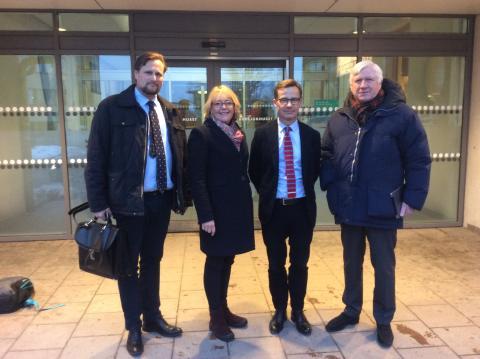 Carl Johan Sonesson (M), Iréne Svenonius (M), Ulf Kristersson (M), Johnny Magnusson (M)