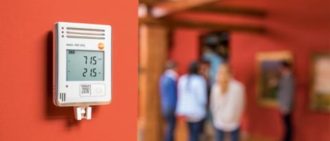 Heltäckande klimatövervakning med testo 160