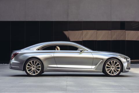 Hyundais konseptbil Vision G (fra siden)