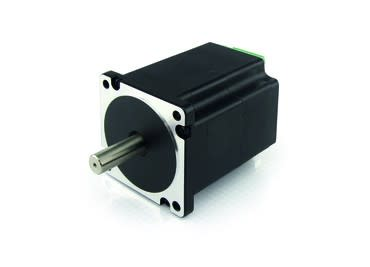 High-performance DC motor with integrated controller