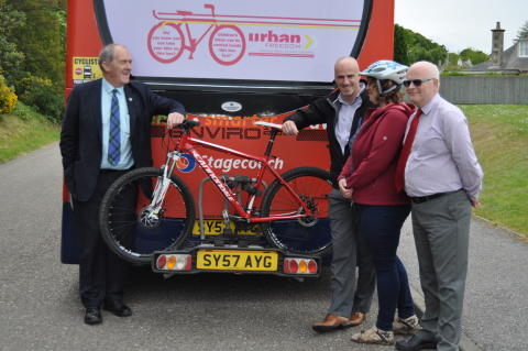 New bus routes and bike friendly buses introduced.