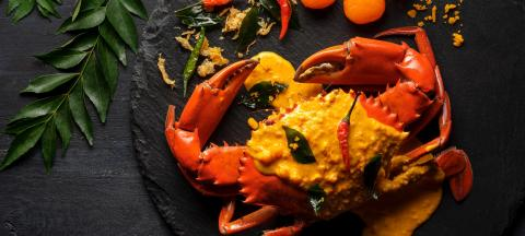 A Claw-Inspiring Crabs Galore at Ginger