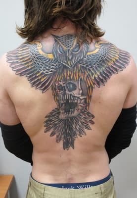 Shane O'Brien - new tattoo