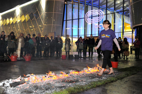 ​Bromsgrove fundraisers to face the heat at firewalk