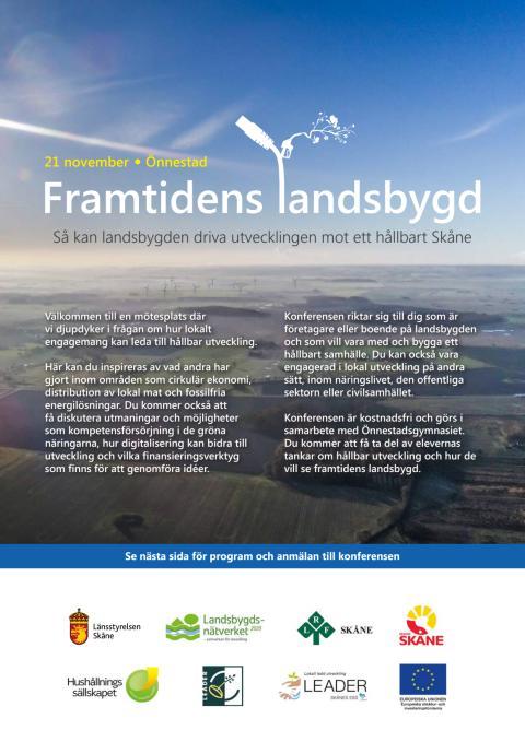 Här kan du läsa programmet för Framtidens landsbygd