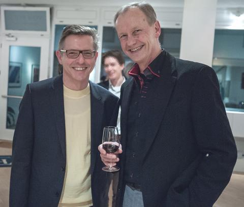 Erfolgreicher Ausstellungsauftakt von Bernd Sannwald in Grünwald
