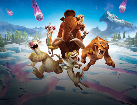 Ice Age kavalkade fra den 1. september på C More