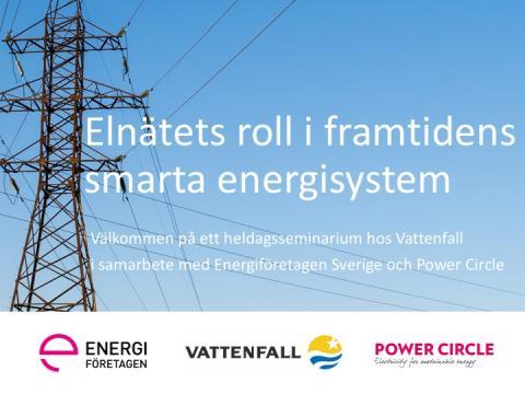 Elnätets roll i framtidens smarta energisystem