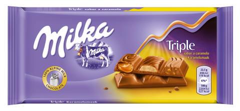 Milka anuncia a lo grande sus tres nuevos lanzamientos