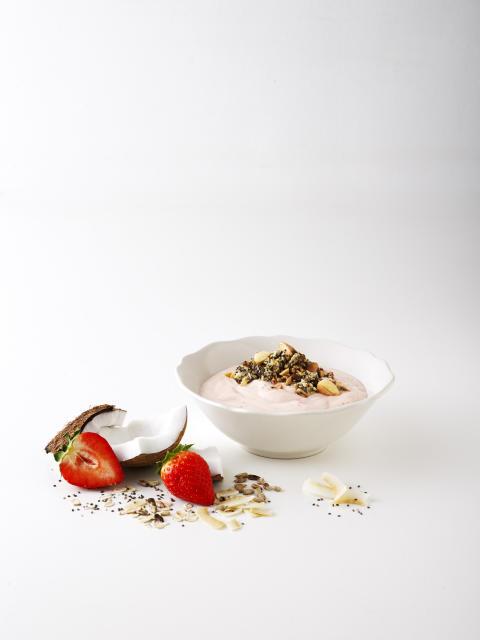 Planti Eko Soygurt Jordgubb/Smultron frukost