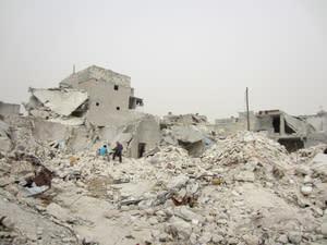 Syrien: Nya satellitbilder över Aleppo visar förödelse och övergrepp mot civilbefolkningen