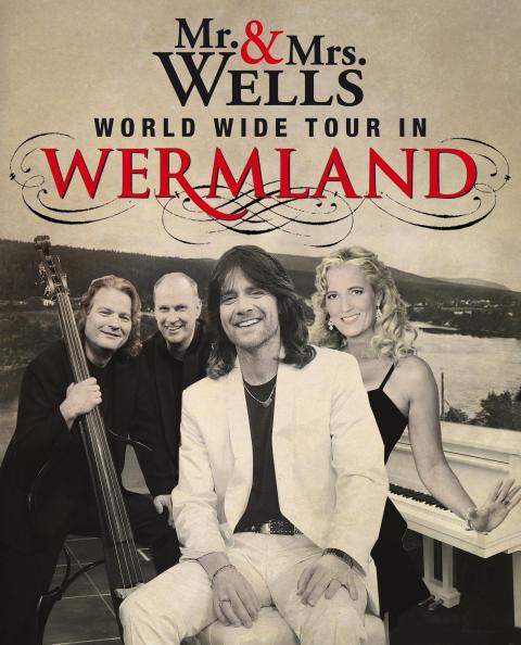 Mr & Mrs Wells på vårturné och släpper nytt album 2016!