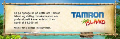 Velkommen til Tamron Island - tag udfordringen op og vind udstyr for 53.000 kr!