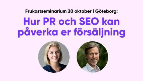 Frukost i Göteborg: Hur PR och SEO kan påverka er försäljning