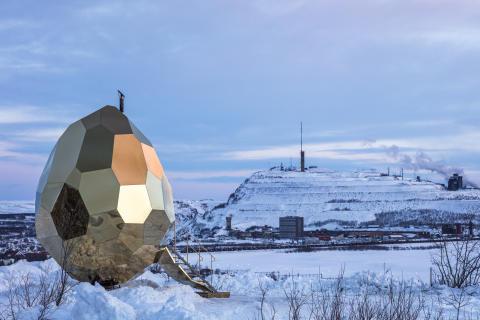 Riksbyggens Solaregg, Kiruna