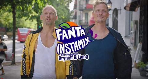 Fanta Instamix återvänder till Sverige