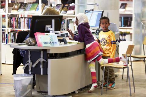 Växjö kommun är Årets bibliotek 2014