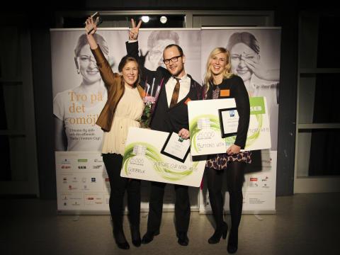 Venture Cup Nords vinnare är korade. Två av fyra kommer från Kramfors