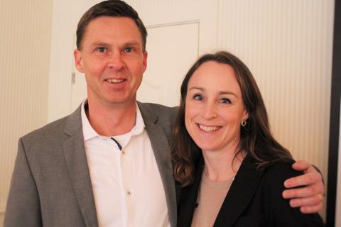 Mats Lennersten och Ann-Marie Engdahl