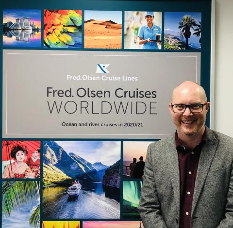 Geoff Ridgeon confirmed as Fred. Olsen Cruise Lines' new Head of Sales