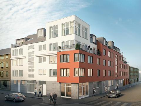HSB får bygglov i centrala Nyköping