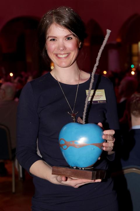 Jessica Nordlander at The Chefsgala in Stockholm March 2019