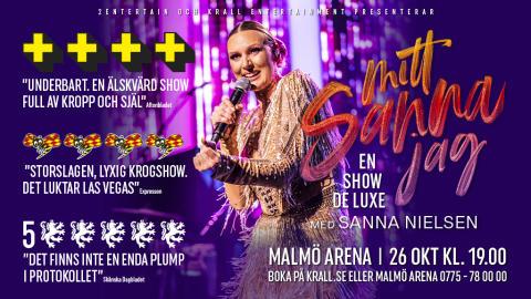 Sanna Nielsen till Malmö Arena i oktober!