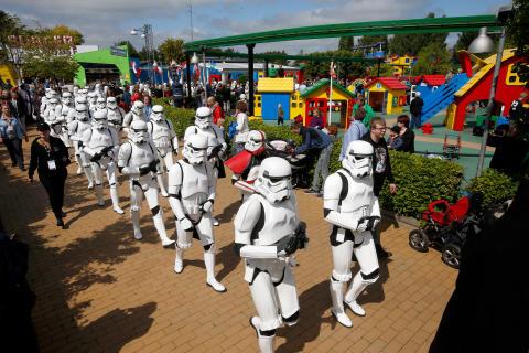 Kraften vækkes til live til LEGO® Star WarsTM Days i LEGOLAND®