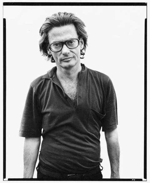 Richard Avedon at Robert Frank's, Mabou Mines, Nova Scotia, July 17, 1975. Photo: Richard Avedon © The Richard Avedon Foundation