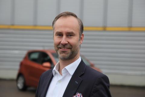 Roland Bägén, marknadschef Hyundai Bilar AB