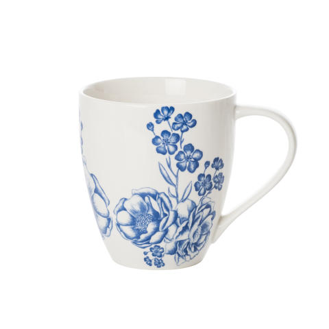 Madeleine Krus store og små blå blomster