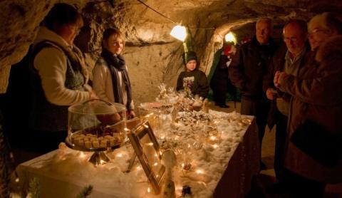 Jul i Tykarpsgrottan