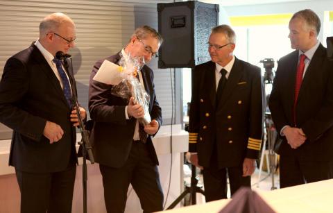 Scandlines og venskabskommuner fejrer hybridfærgen M/F Copenhagen