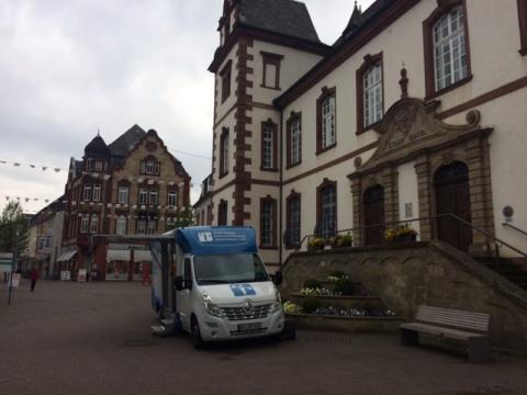 Beratungsmobil der Unabhängigen Patientenberatung kommt am 14. Oktober nach Merzig.