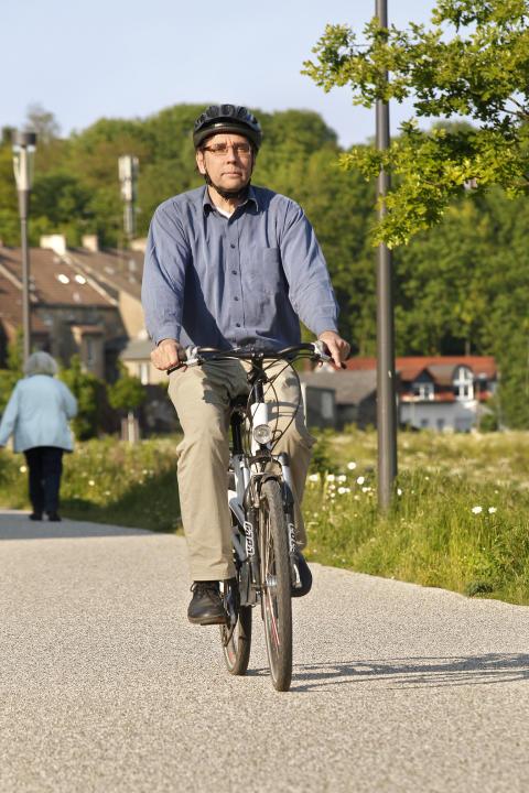 Auch Radler sollten sattelfest in Sachen Verkehrsregeln sein