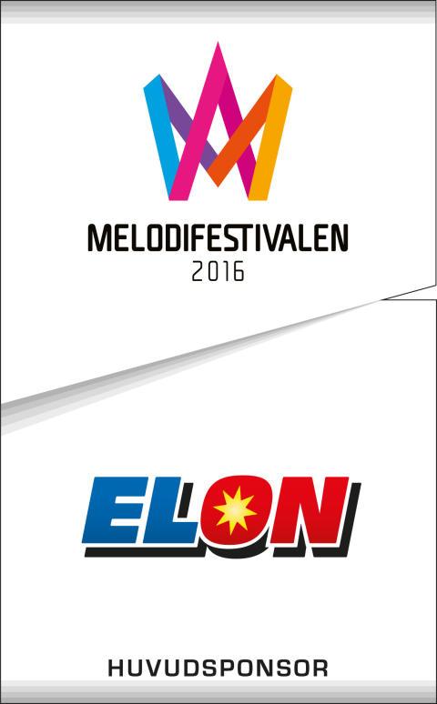 ELON - stolt huvudsponsor av Melodifestivalen