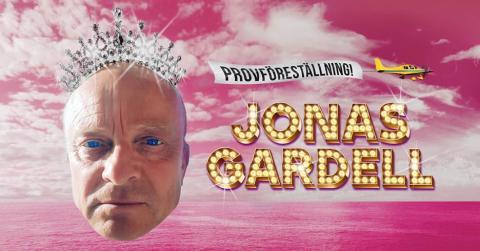 Jonas Gardell gör provföreställningar inför sin nya show