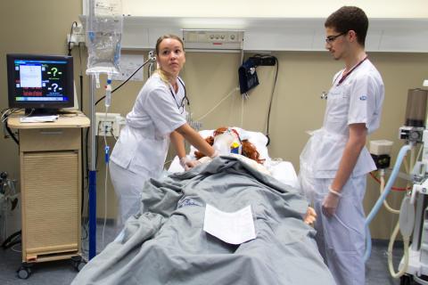 Simulering vid Clinicum, LiU