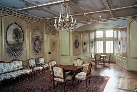 Salon Corot im Chateau de Gruyère