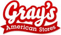Gray's American Stores finns nu på Facebook