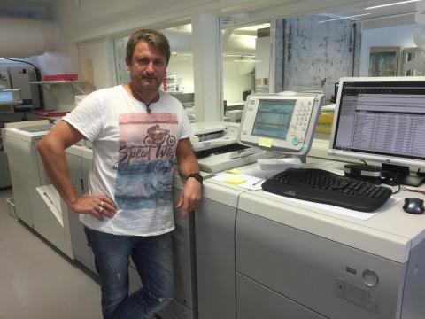 Kalle Solvang, daglig leder, CopyCat avdeling Ski