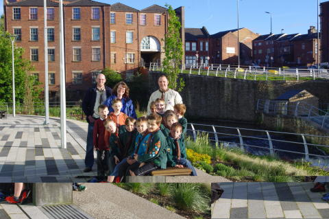 WATER LOT OF FUN: First Rochdale Scout Group's Cubs set out to become Junior River Stewards