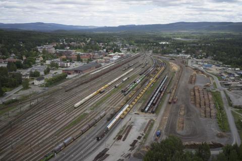 Investeringar för miljoner som ökar kapaciteten och halverar lastningstiden på Ånge omlastningsterminal
