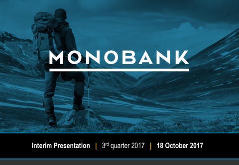 Monobank ASA - Presentation - Q3 2017
