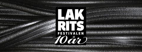 Pressvisning och pressackreditering inför Lakritsfestivalen 10 år -  14-15 april 2018