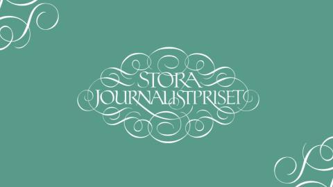 PRESSKONFERENS: Vilka nomineras till Stora Journalistpriset 2019?