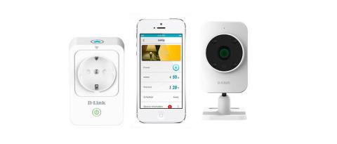 """Framtiden är här med D-Links nya """"smarta hem"""""""