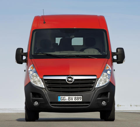 Nya Opel Movano