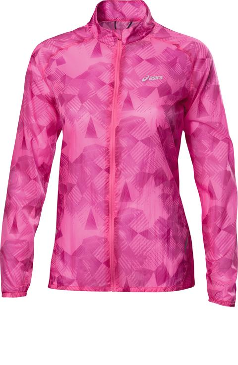 ASICS W'S FEATHER WEIGHT JACKET_Geometric Knockout Pink_SS14_110581_2012